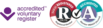 I am a Registered psychotherapist and an Accredited Member of BACP
